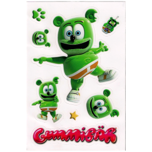 Gummibär Sticker Sheet
