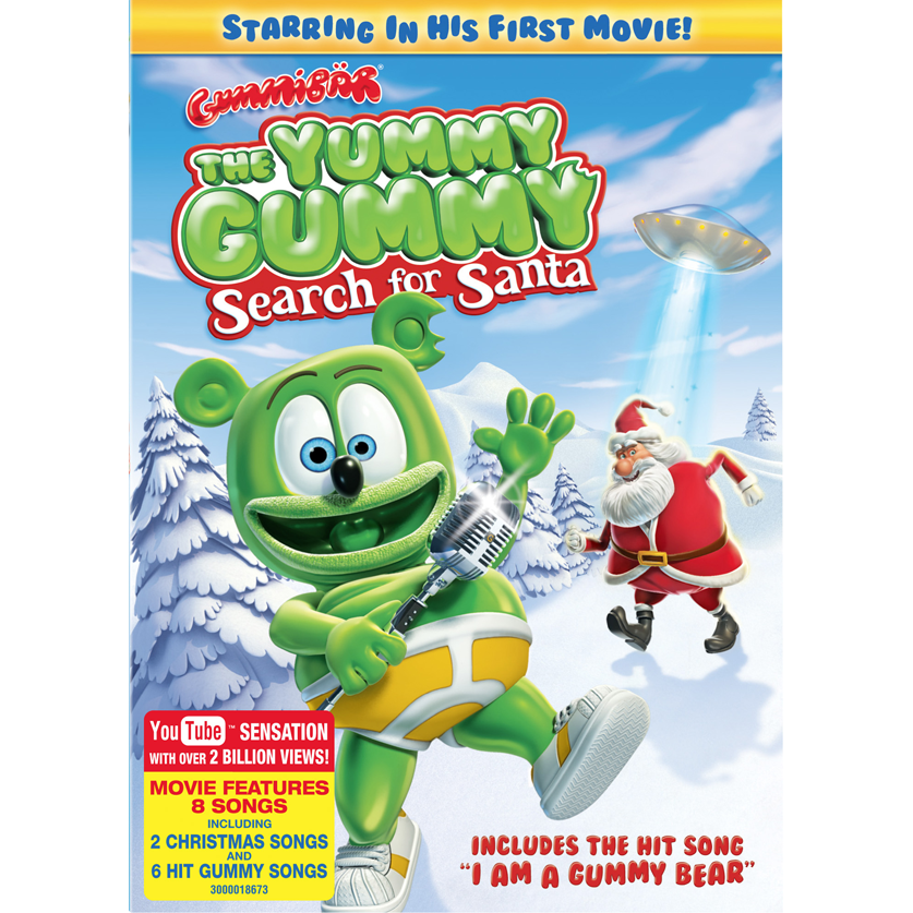 The Yummy Gummy Search for Santa DVD