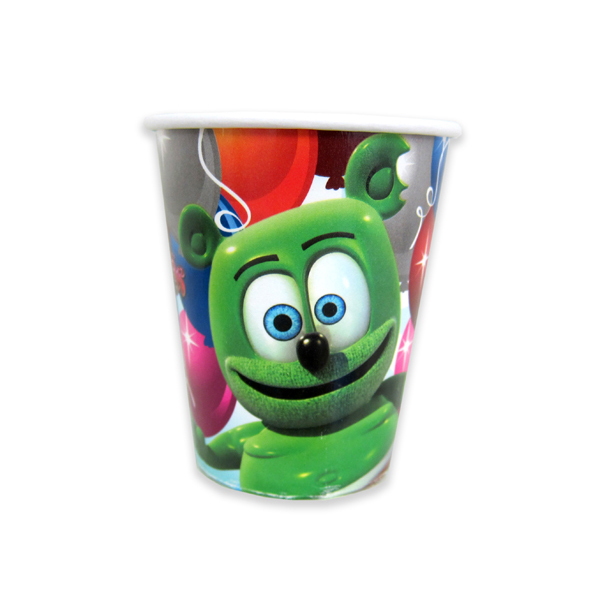 Gummibär (The Gummy Bear) Paper Party Cups