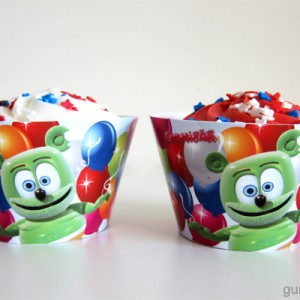 Gummibär Cupcake Wrappers