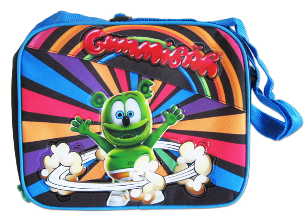 Blue Gummibär Lunch Bag