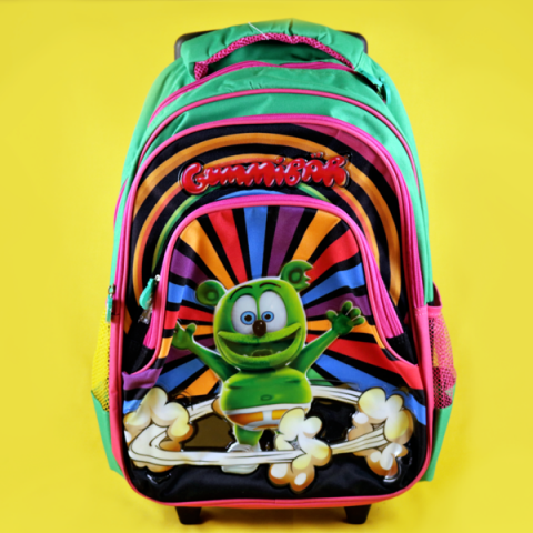 Gummibär (The Gummy Bear) Rolling Backpack