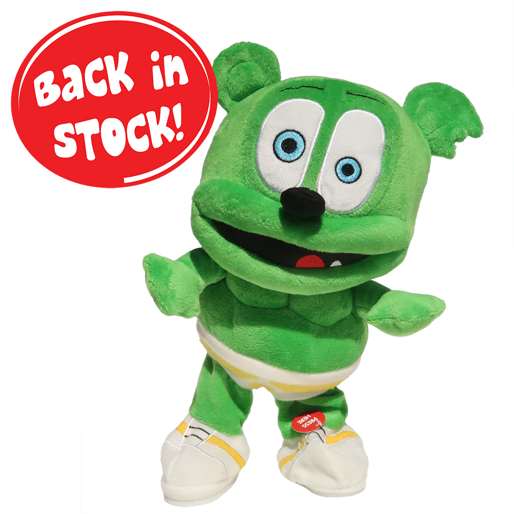 "Gummibär (The Gummy Bear) 11.5"" Dancing Plush Toy"