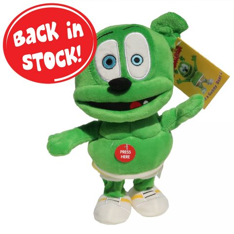 "Gummibär (The Gummy Bear) 9"" Running Plush Toy"