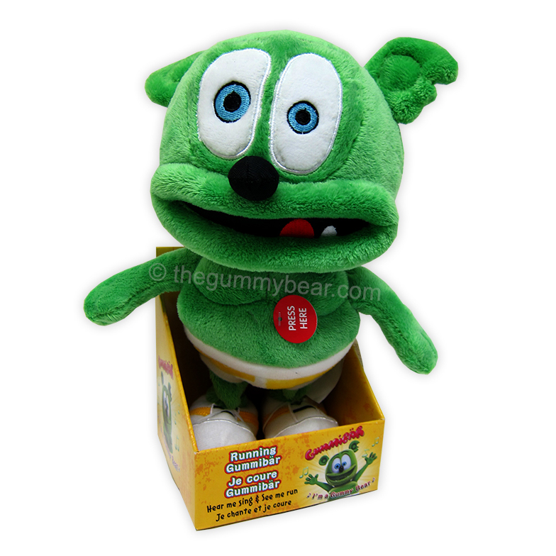 Running Gummibär Plush Toy