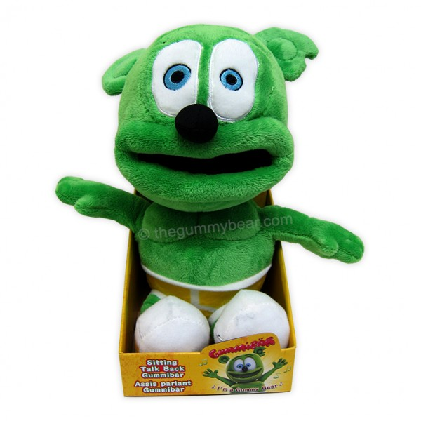 Talking Gummibar Plush Toy