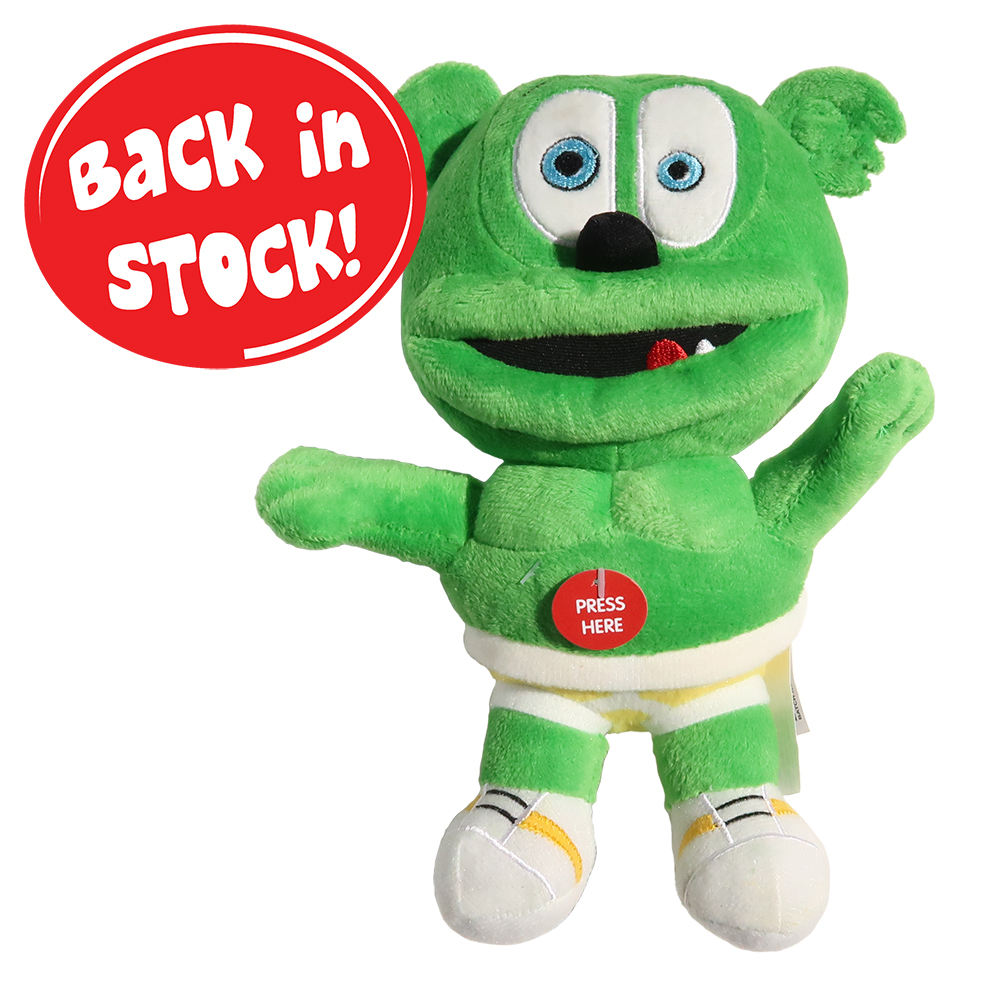 "Gummibär (The Gummy Bear) 8.5"" Singing Plush Toy"