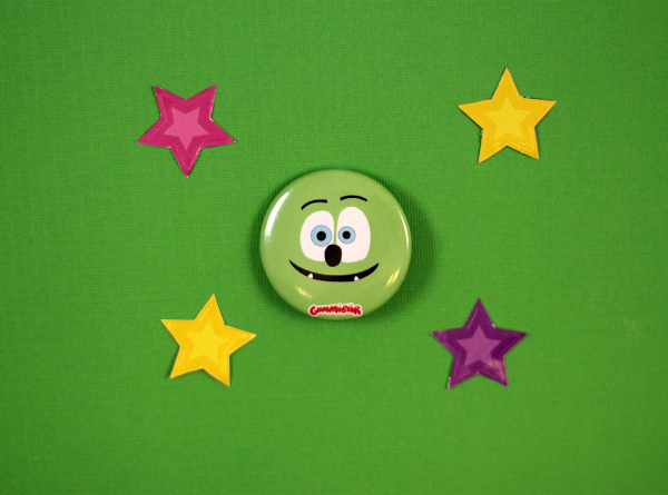 Gummibär Flat Face Button