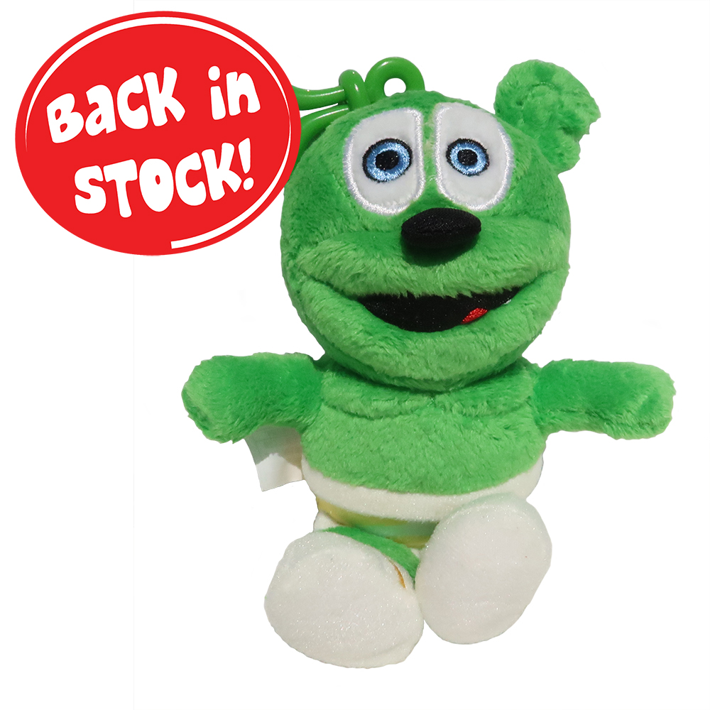 "Gummibär (The Gummy Bear) 5.5"" Clip On Plush Toy"