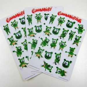 Gummibär Planner Sticker Sheets ~ 3 Sheets ~ 60 Stickers