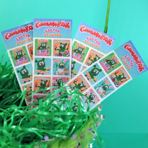 Gummibär (The Gummy Bear) Easter Greetings Planner Sticker Sheets ~ 4 Sheets ~ 40 Stickers
