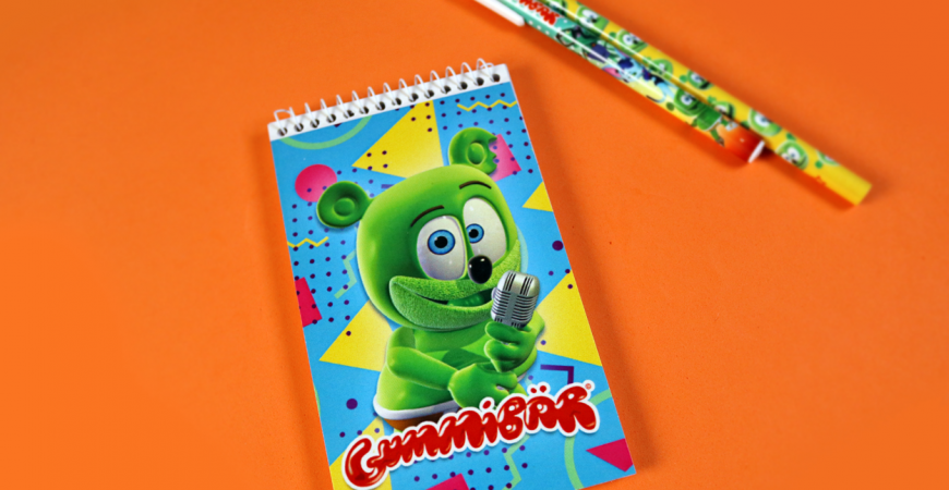 notepad small gummy bear song i am a gummybear international stationery planner note pad paper product