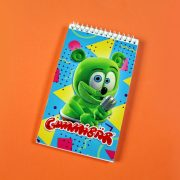 notepad gummy bear song gummibar i am a gummybear international kids stationary school supplies notebook