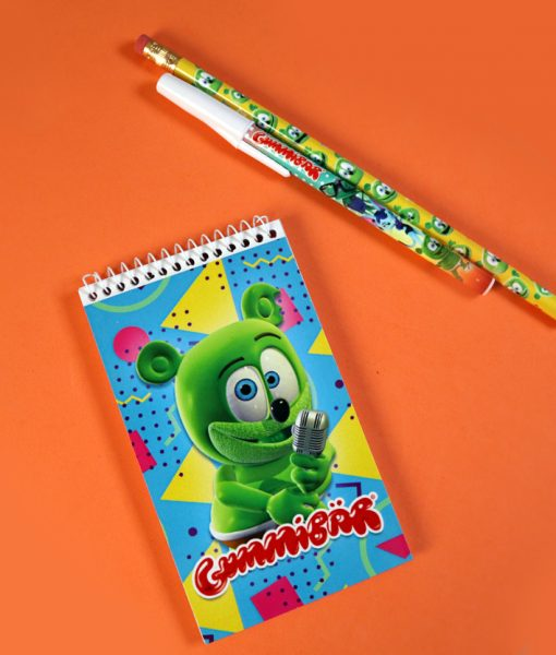 gummy bear notepad