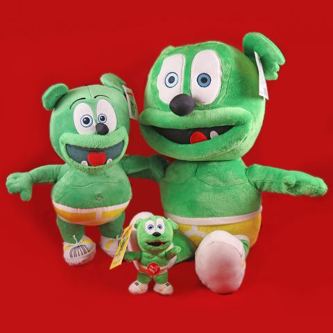holiday plush toy gift bundle gummibar stuffed animal christmas toys animated animation gummy bear song the gummybear show