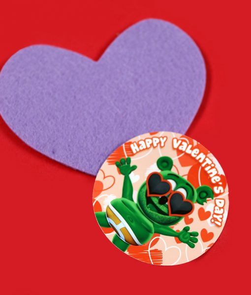 gummibär gummy bear valentine's day sticker