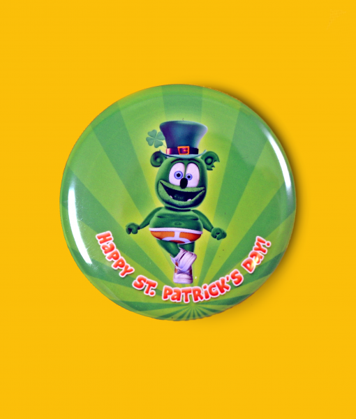 irish jig button st. patrick's day gummibar the gummy bear