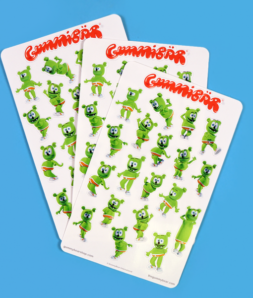 dame la gomita gummibar the gummy bear stickers i am a gummy bear