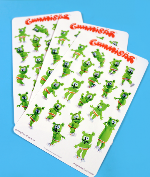 dame la gomita gummibar the gummy bear stickers