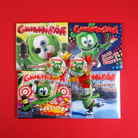 Gummibär (The Gummy Bear) CD Stocking Stuffer