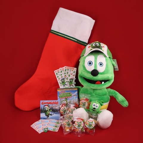 Gummibär (The Gummy Bear) Deluxe Holiday Plush Stocking