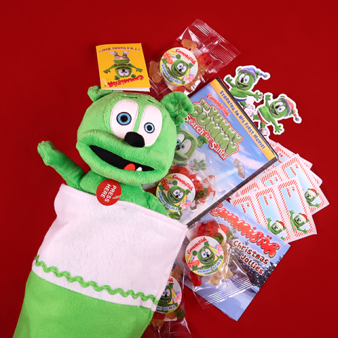 Gummibär (The Gummy Bear) Holiday Plush Stocking
