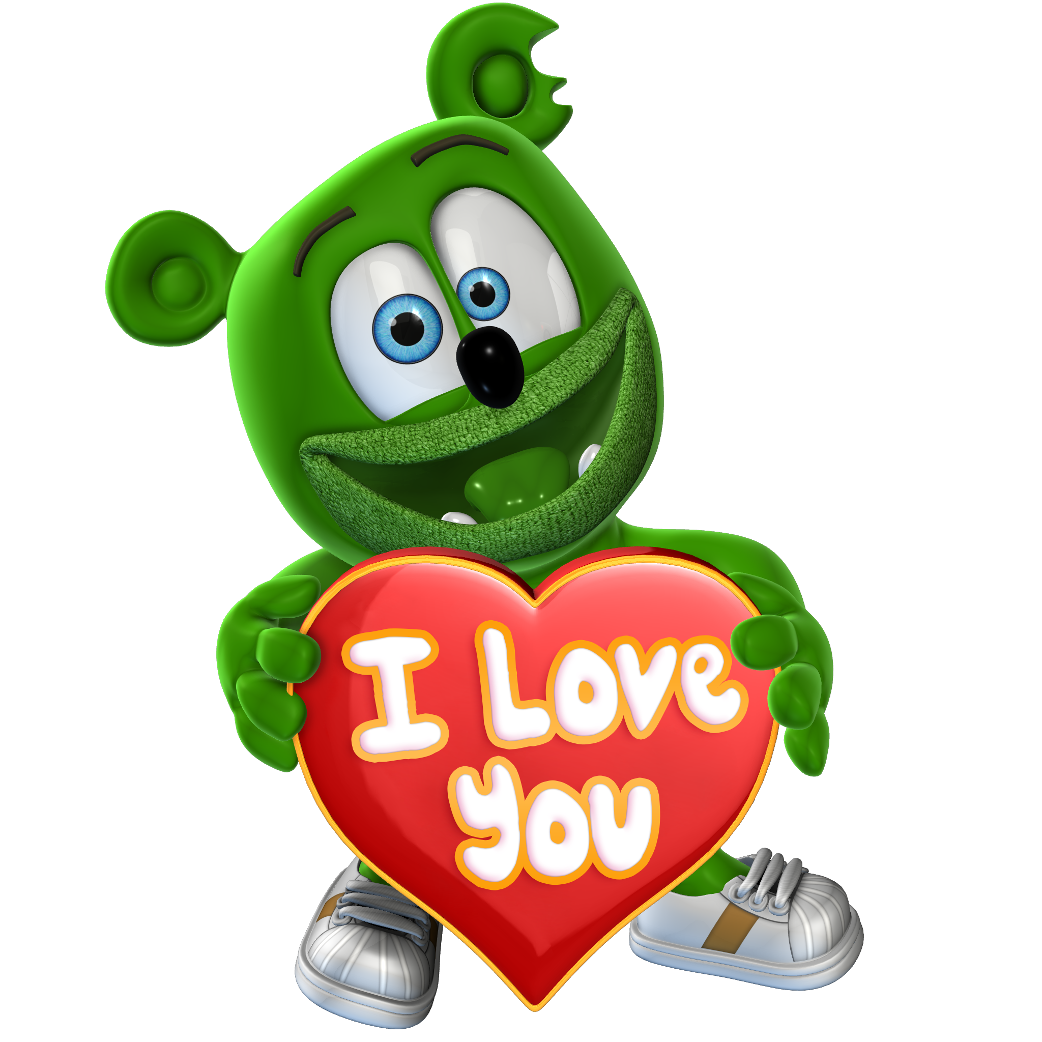 "Gummibär (The Gummy Bear) ""I Love You"" Magnet"