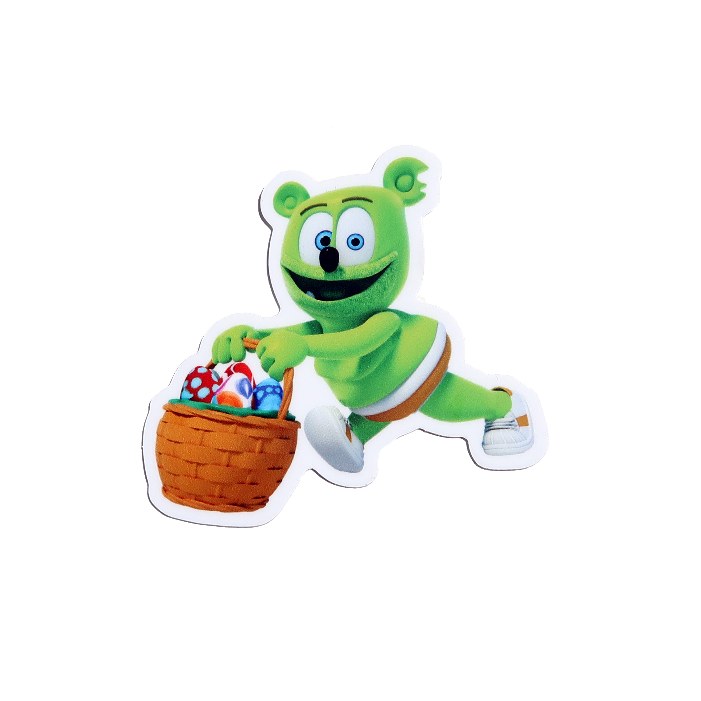"Gummibär (The Gummy Bear) Easter Basket 3"" Vinyl Sticker"