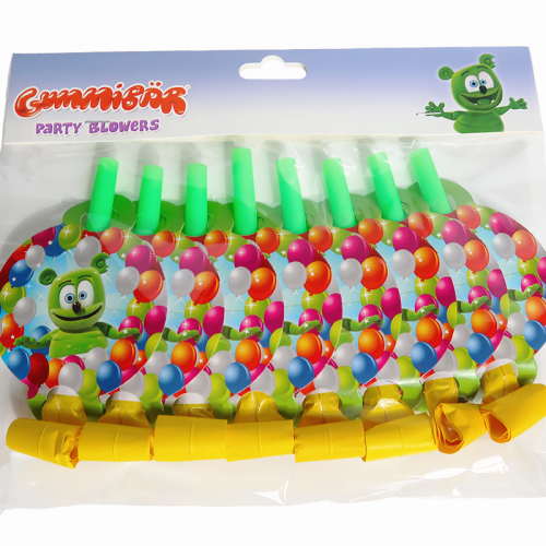 Gummibär (The Gummy Bear) Party Blowers ~ Noise Makers