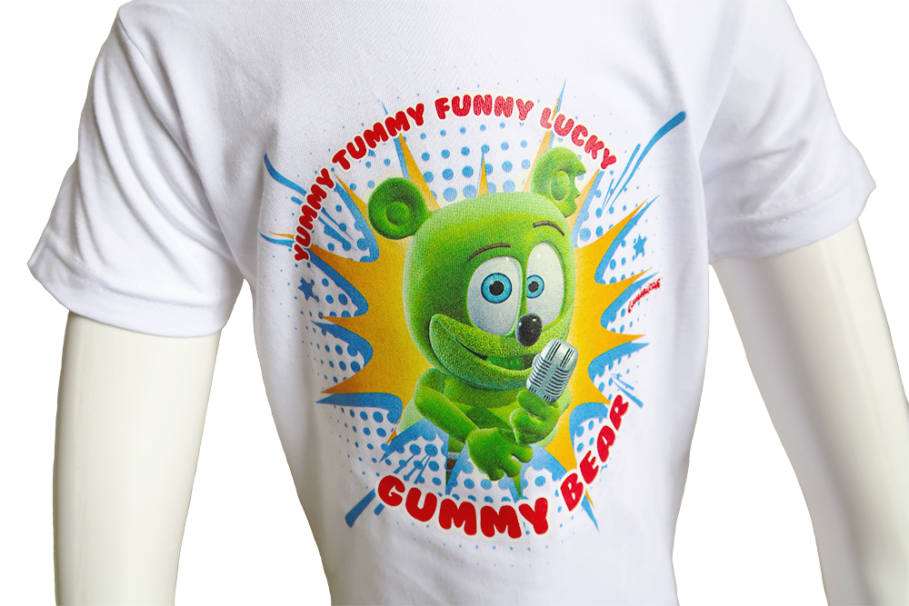 Gummibär (The Gummy Bear) Funny Lucky Toddler T-Shirt