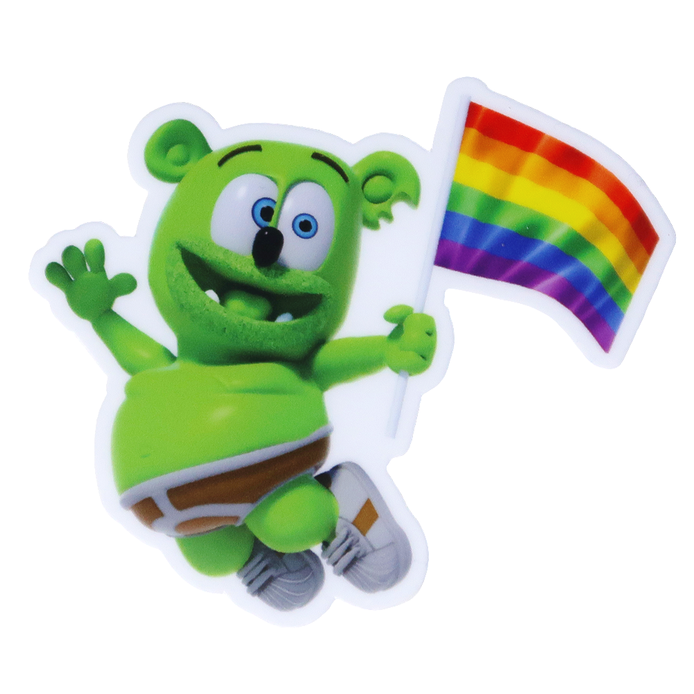 Gummibär (The Gummy Bear) Vinyl Pride Sticker