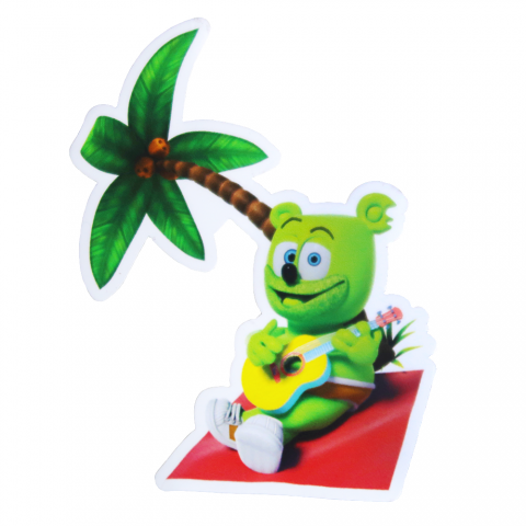 Gummibär (The Gummy Bear) Summer Vacation Magnet
