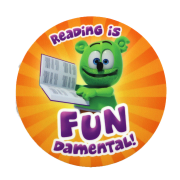 Gummibär Reading Sticker