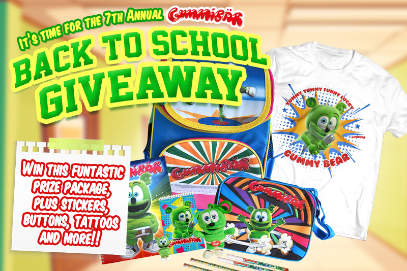 Enter to Win the Seventh Annual Back to School Giveaway!