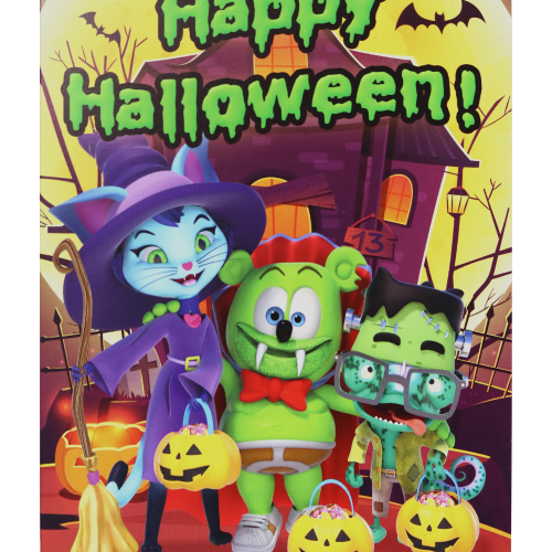 Gummibär (The Gummy Bear) Halloween Greeting Card