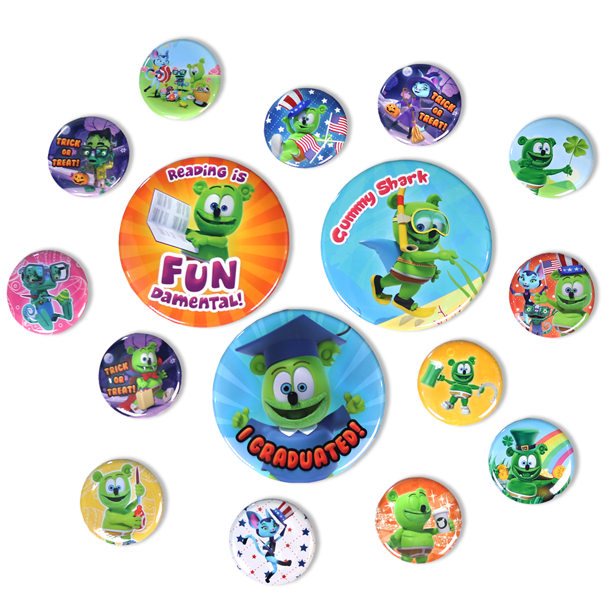 Gummibär Button 5 Million Fun Pack