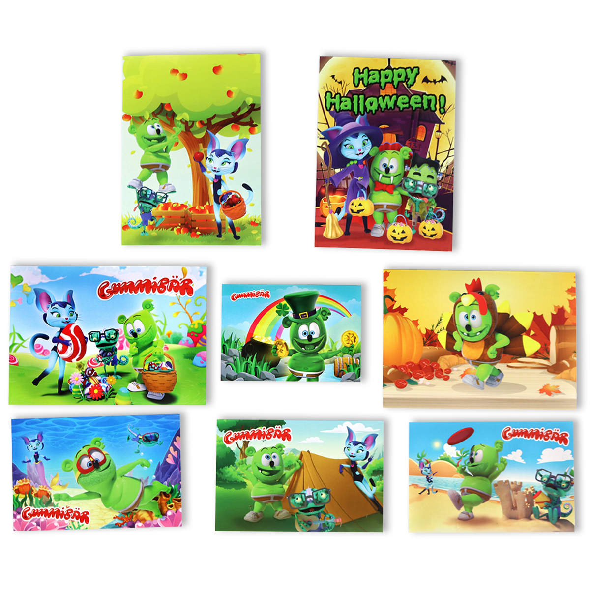 Gummibär Greeting Card 5 Million Fun Pack