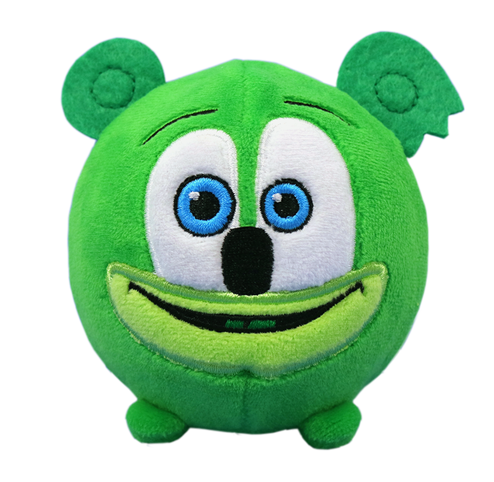Gummibär (The Gummy Bear) Squeezamal - Squishy Plush Toy